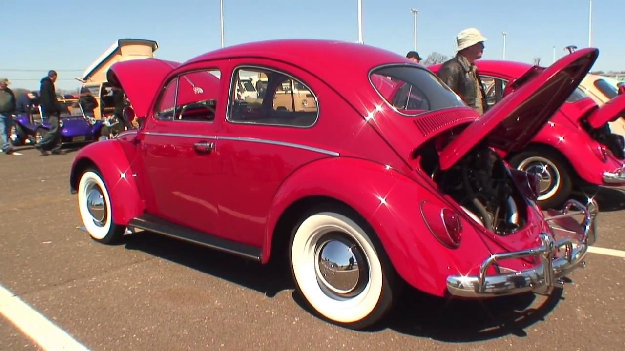 classic vintage vw volkswagen beetle bug aircooled car show englishtown nj show n go 2009 youtube. Black Bedroom Furniture Sets. Home Design Ideas