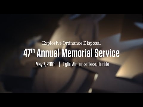 EOD Memorial Ceremony 2016