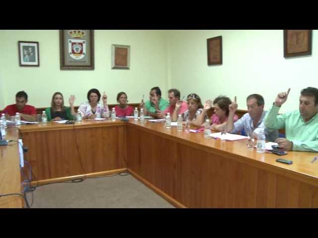 Pleno Extraordinario de San Bartolomé 02-07-13