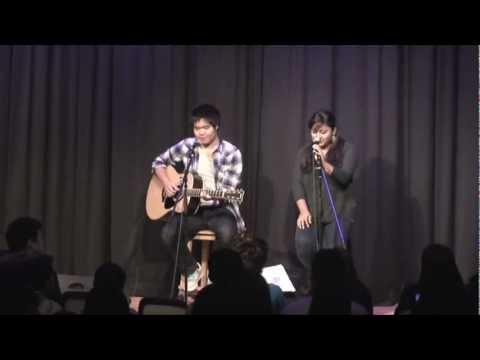 Lucky- Jason Mraz and Colbie Caillat (CAJ Talent Show)