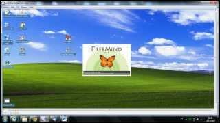 Utilização básica do FreeMind