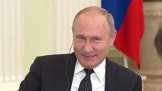 Путина РАССМЕШИЛ глупый вопрос западного журналиста