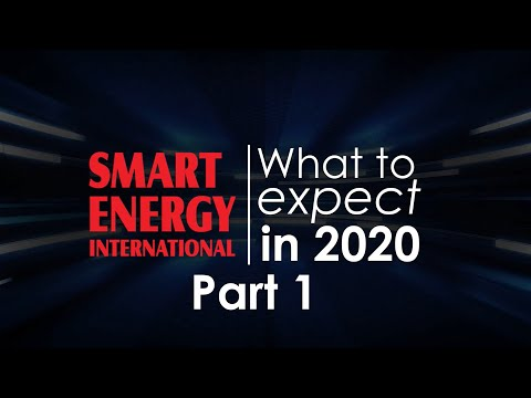 Energy industry 2020 Predictions - Part 1