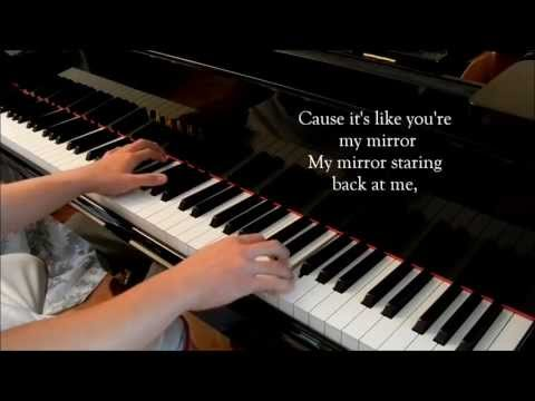 Mirrors (Justin Timberlake) - Piano Cover [with lyrics]