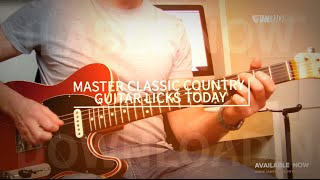 *NEW* Andy Saphir's 20 Classic Country Licks!