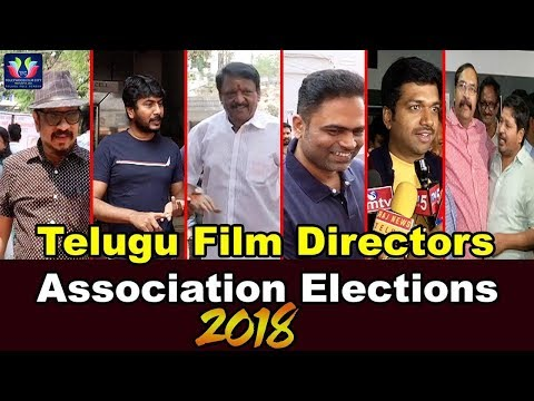 Telugu Film Directors Association Elections 2018 Press Meet || Telugu Full Screen