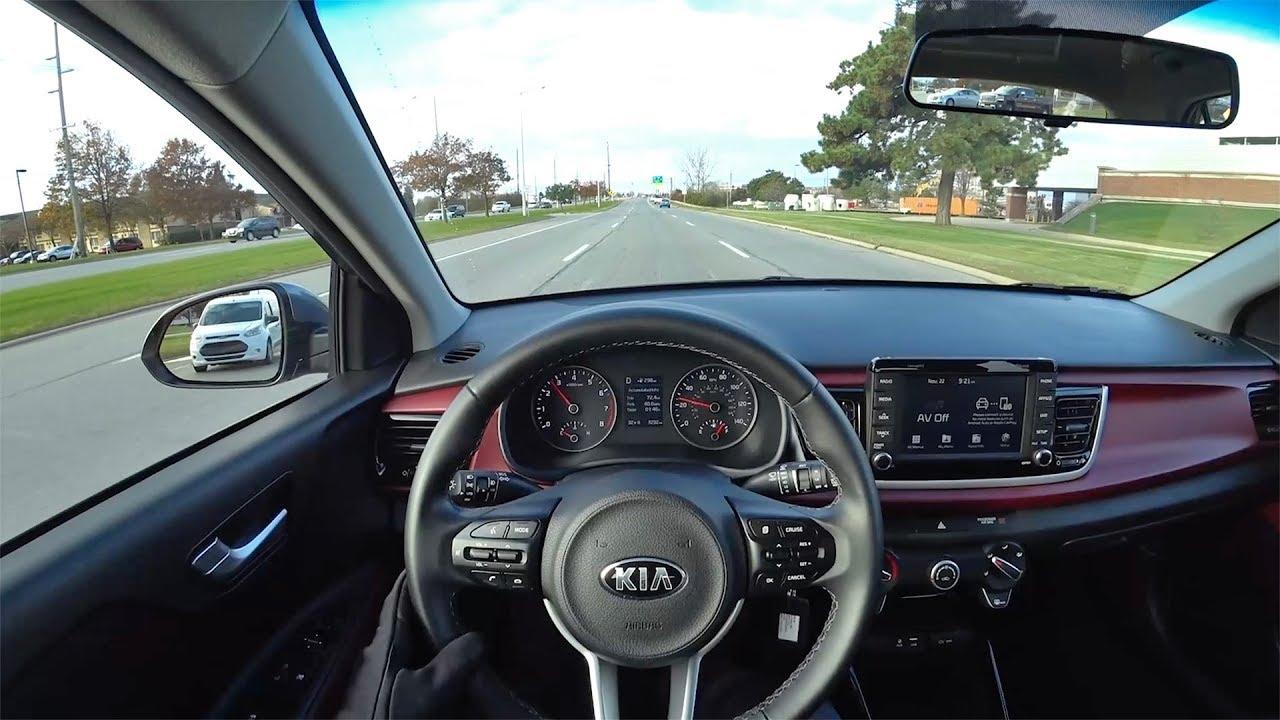 Hypermiling the 2018 Kia Rio EX 5-Door - POV Review - YouTube