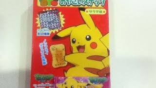 Pokémon Tohato Salad Snack & Pokémon Pikachu Grape Gum