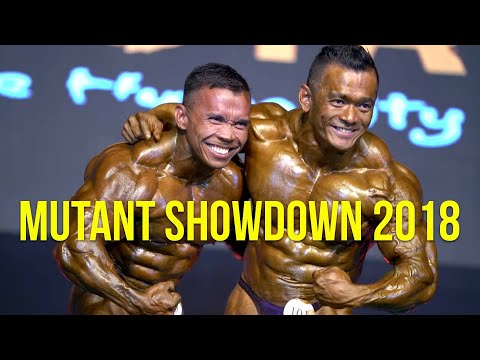Mutant Muscle Showdown 2018, Manila, Philippines (Event Highlights)