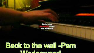 back to the wall- Pam wedgewood