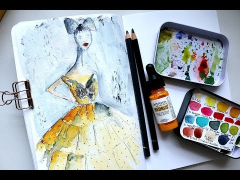 Can you use watercolor on cotton canvas
