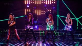 Little Mix do their best Rihanna - The X Factor 2011 Live Show 5 (Full Version)
