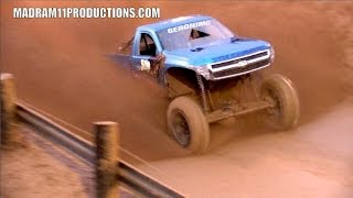 mega trucks actually get muddy