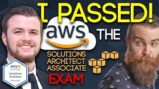 I PASSED the AWS Solutions Architect Associate EXAM!!