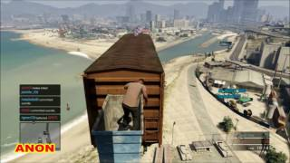 CRAZY PARKOUR GTA 5 ONLINE PS3
