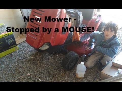 Mower engine surging sputtering? Maybe this is the problem.