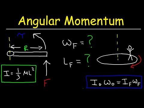Angular Momentum Physics Practice Problems