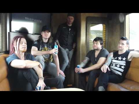 Hinder - Interview 7.24.15 via 'Crazy Horse Booking Agency'