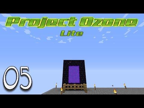 Minecraft Project Ozone Lite - The Nether Auto Lava And Yelorium Block (5)