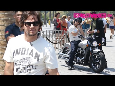 Mark Wahlberg Rides An Indian Motorcycle & Speaks On Transformers, His Favorite Movies & His Past