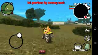 Bikini girl riding on a super bike in GTA SA android