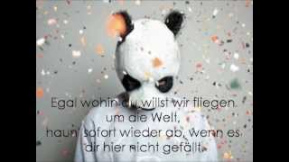 Cro - Einmal um die Welt (Lyrics)