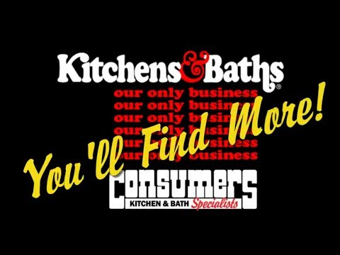 Consumers Kitchens & Baths Showroom Tour - YouTube