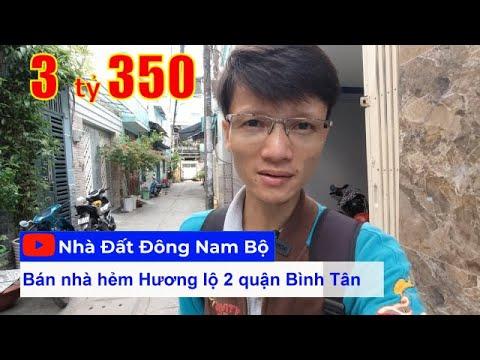 Video nhà bán quận Bình Tân, ngay ngã tư Bốn Xã, hẻm 4m Hương lộ 2