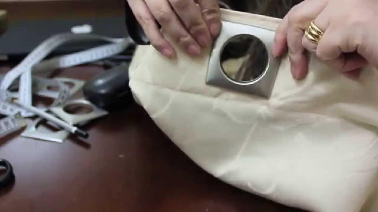 Tutorial colocao de ilhs em cortina de varo  YouTube