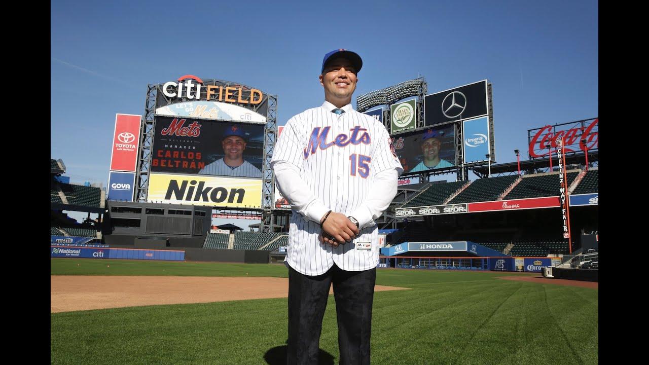 Ex Yankee Carlos Beltran Introduced As Mets Manager