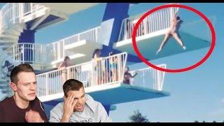 Best SPLASHDIVING POOL FAILS | REACT VIDEO | MAX MORENO