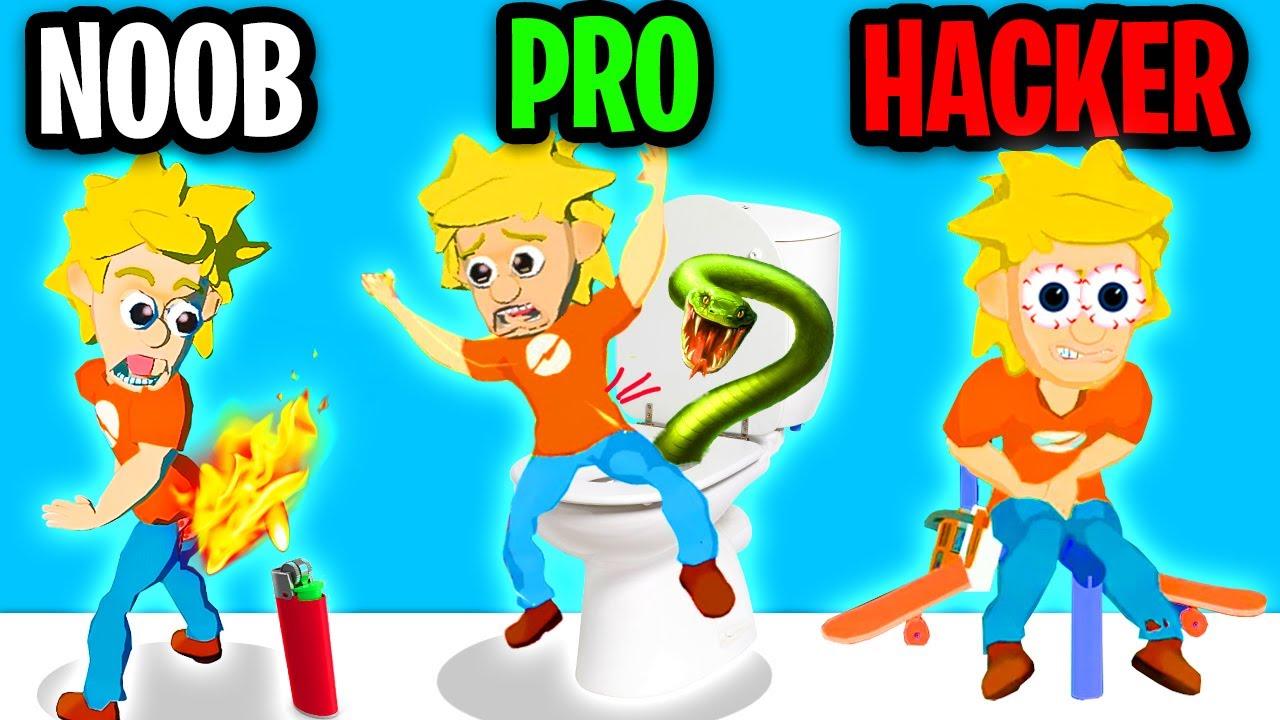 Download NOOB vs PRO vs HACKER In PRANK MASTER 3D! (ALL LEVELS! *PRANK ADAM'S MOM!?*)