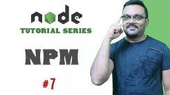 Using NPM modules & Github Modules Node.js | Part 7 Node Tutorials for Beginners