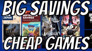 PS4 Deals you dont want to miss! Save Up to 70% Cheap Games