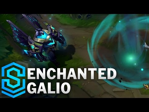 Enchanted Galio (2017) Skin Spotlight - League of Legends