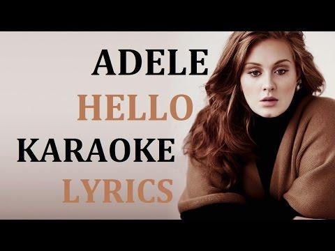 ADELE - HELLO KAORAKE COVER LYRICS