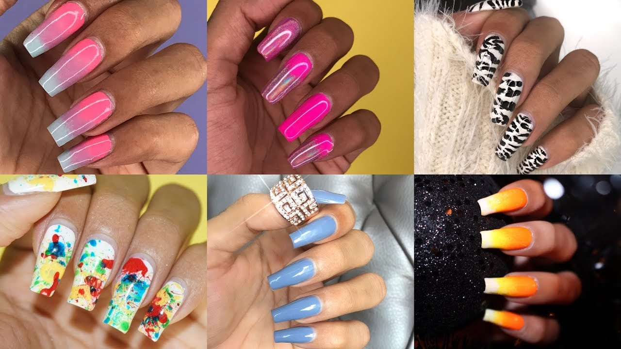 Nail Polish Designs | Ombre + Holographic + Zebra + Candy Corn + ...