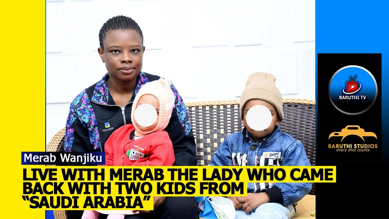 """Download Meet """"Merab"""" THE LADY WHO CAME BACK WITH 2 KIDS FROM """"SAUDI ARABIA"""""""
