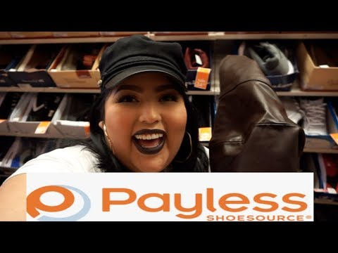Trying On Plus Size Boots In Payless