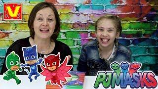 COLORIAMO CON I PJ MASKS SUPER PIGIAMINI - giochi per bambini - un mondo di colori e di eroi