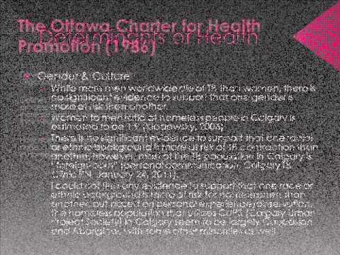 Community Nursing - Applying the Ottawa Charter