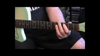 """Punk Guitar Lesson with Vice Squad, """"You Can"""