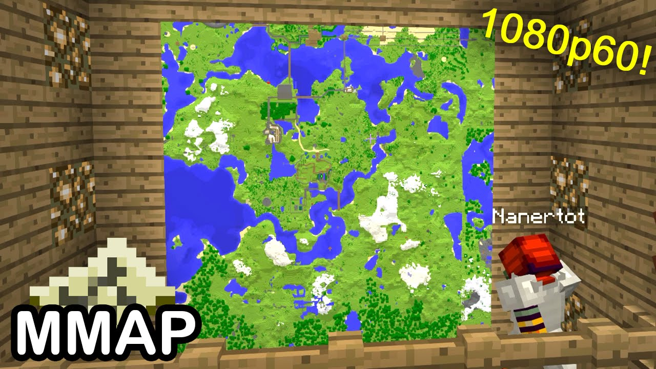minecraft building a map wall ()  youtube -