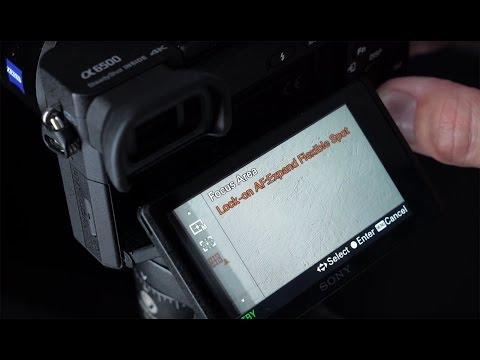 Sony a6500: Touchscreen Demo