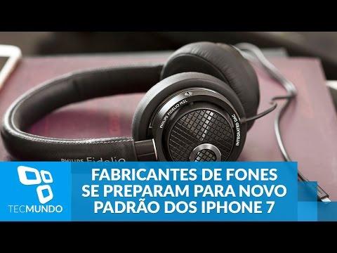 Fabricantes De Fones De Ouvido Se Preparam Para IPhone 7 Sem Conexão 3,5 Mm