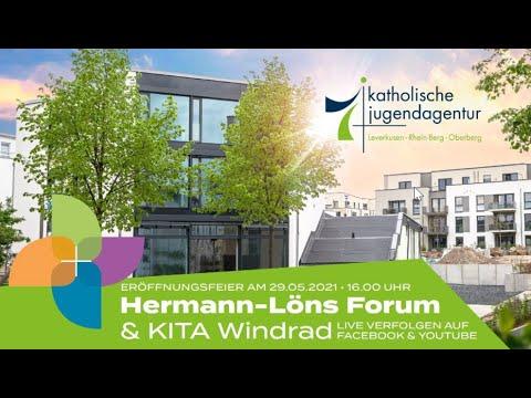 Eröffnung des Hermann-Löns Forums und der KITA Windrad am 29.05.2021