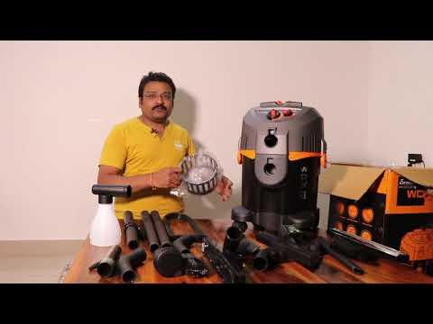 Eureka Forbes EuroClean Vacuum Cleaner Model WDX2