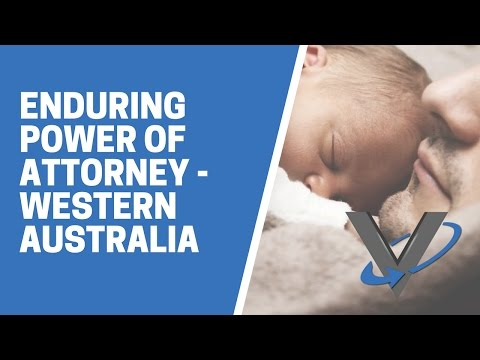 Enduring Power of Attorney WA