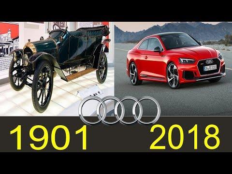 Evolution Of The Audi (1901-2018)