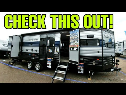 Interesting Travel Trailer RV Floorplan! Cherokee Limited 274VFK